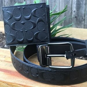 Father's Day Special Coach Belt & Wallet